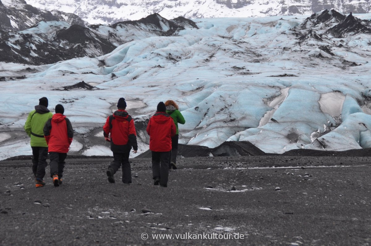 Wanderung zum Sólheimajökull