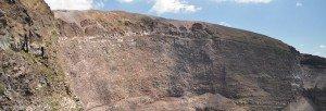 Vesuv Kraterrand