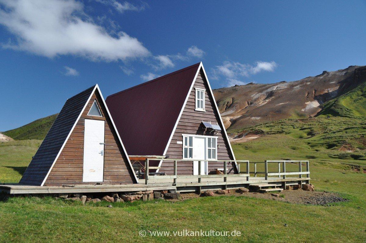 Wanderhütte am Kjetilfjall (Nordostisland)