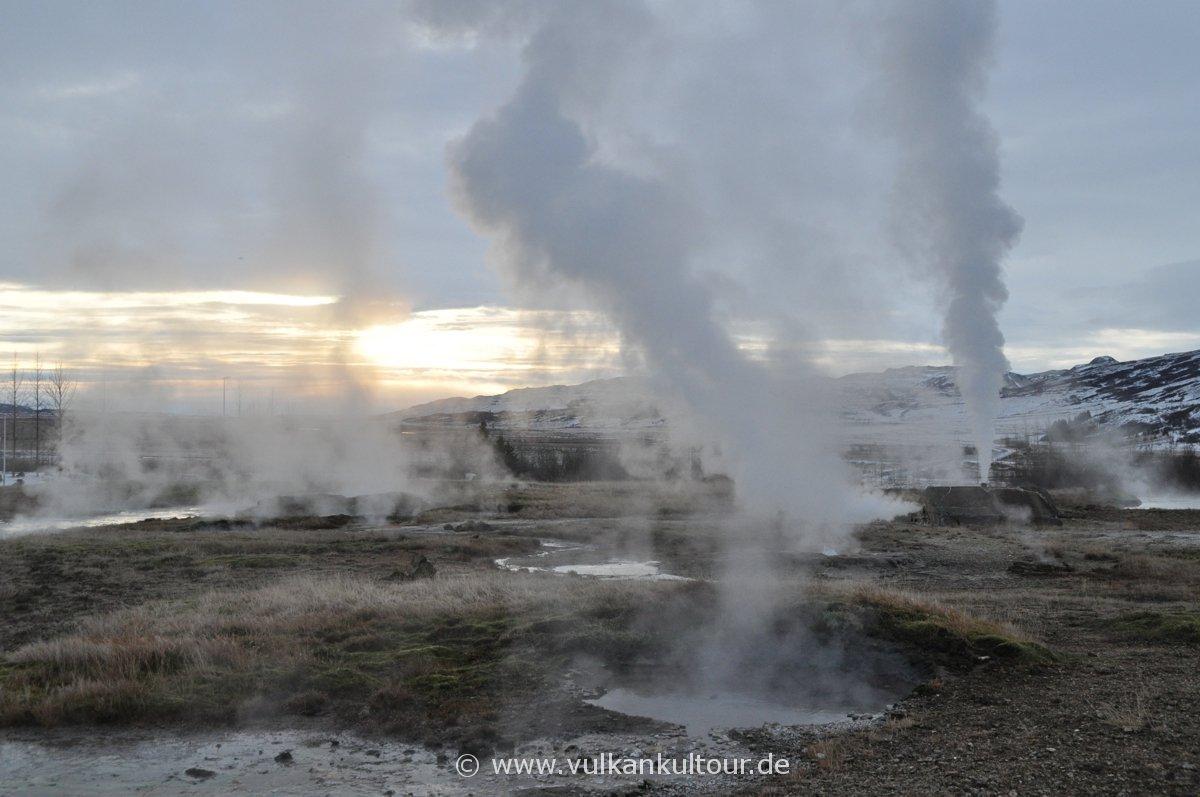 Hochtemperaturgebiet Haukadalur (Geysir-Geothermalfeld)