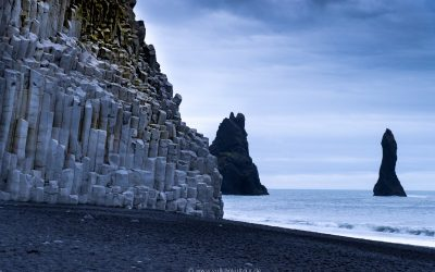 Basaltsäulen am Reynisfjara