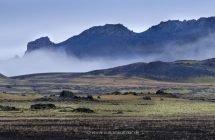 Fahrt durch das südliche Hochland bei mystischem Wetter