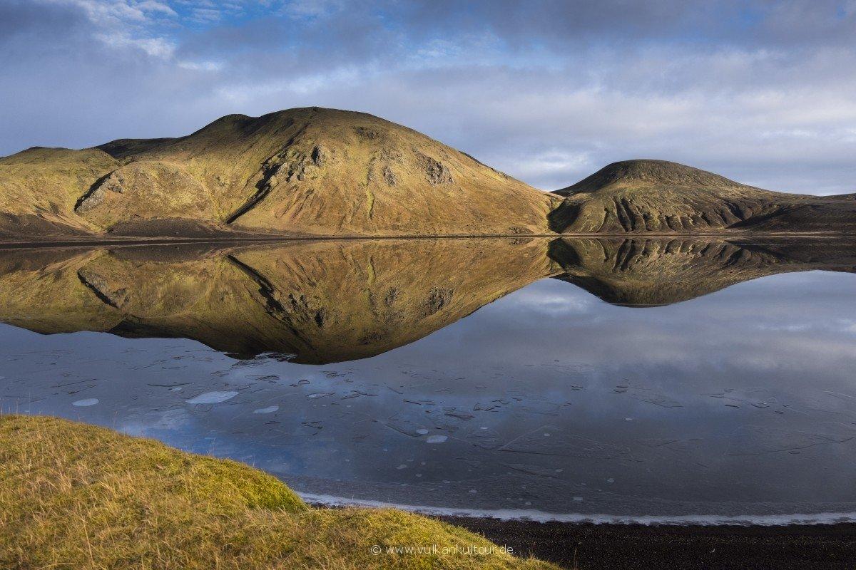 Spiegelsee im südlichen Hochland