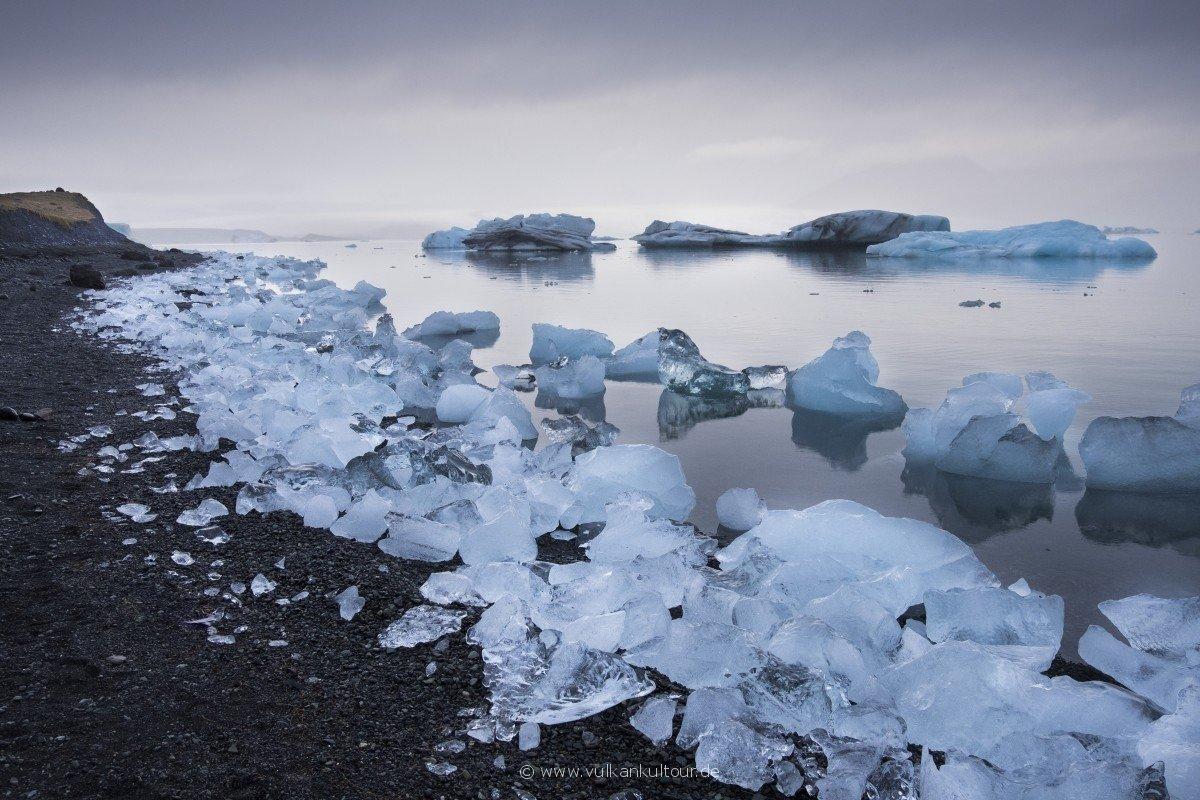 Eisberglagune Jökulsárlón