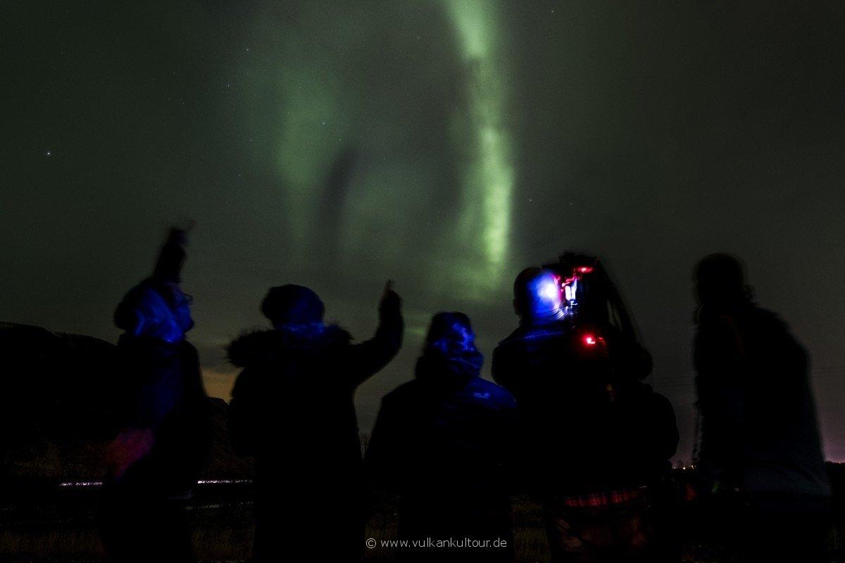 Der MDR auf Aurora-Tour in Island