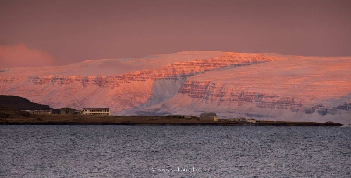Reykjanes (Vestfirðir) mit dem Saltverk