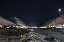 Longyearbyen im Longyeardalen