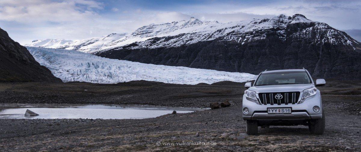 Island mit dem Landcruiser entdecken - ein richtiges Abenteuer!