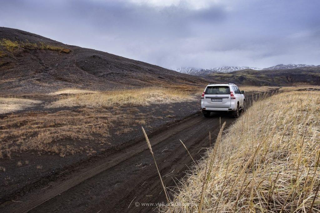 Mit dem Landcruiser durch Island