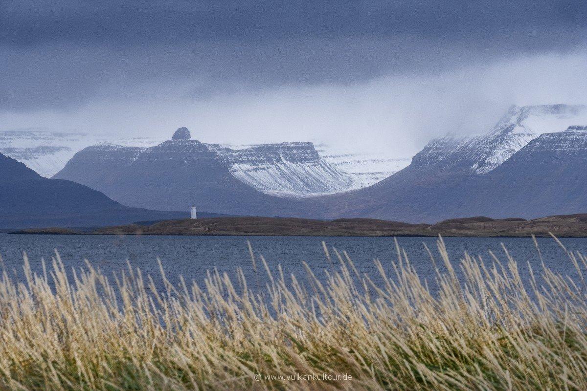 Blick über das Ísarfjarðardjúp nach Æðey