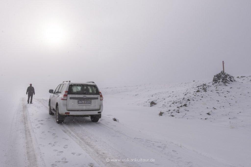 Der Winter kommt in den Westfjorden früher als im Rest Islands!