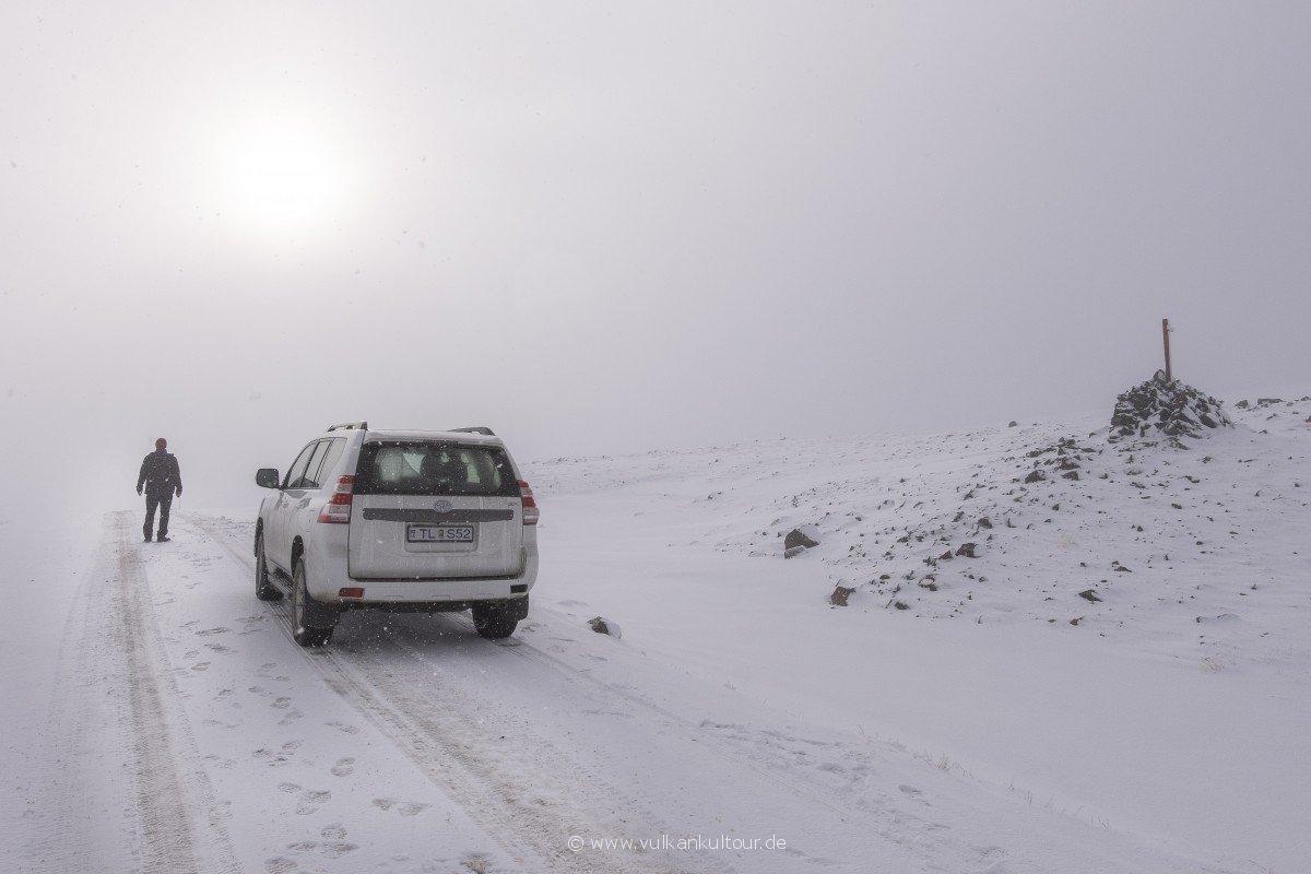 Der Winter hat in den Westfjorden schon Einzug gehalten