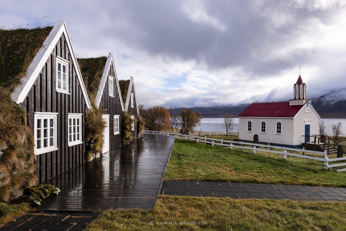 Hrafnseyri - Geburtshaus von Jón Sigurðsson (1811–1879)