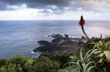 Ponta da Ferraria - Blick nach Westen