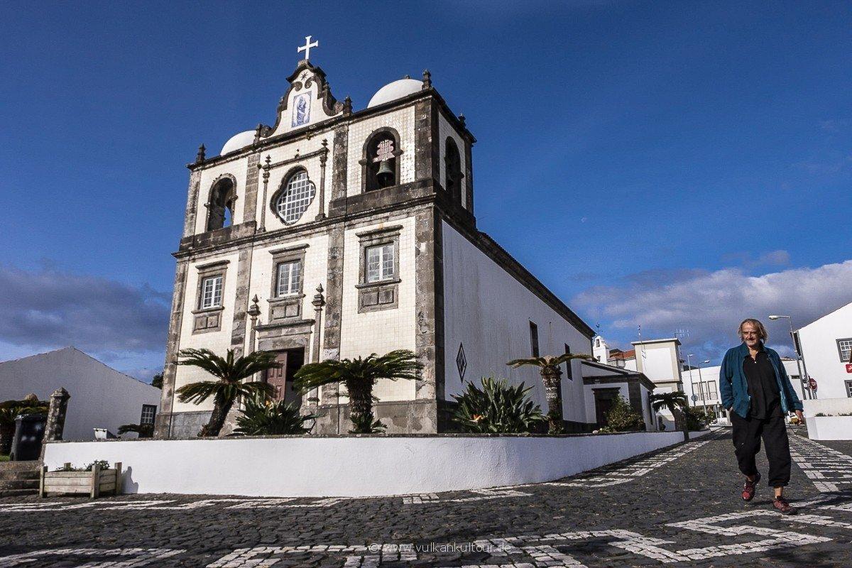 Igreja da Nossa Senhora do Rosário in Lajes