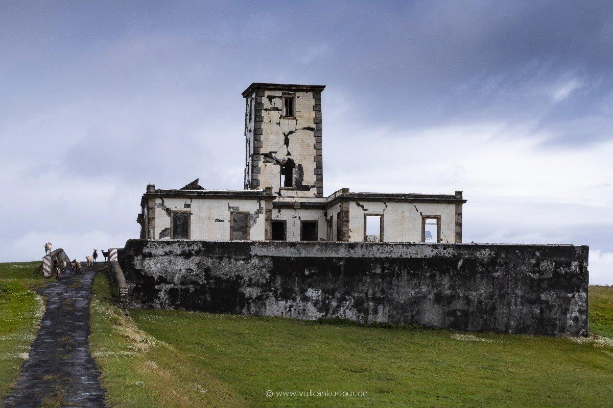Der alte Leuchtturm von Ribeirinha