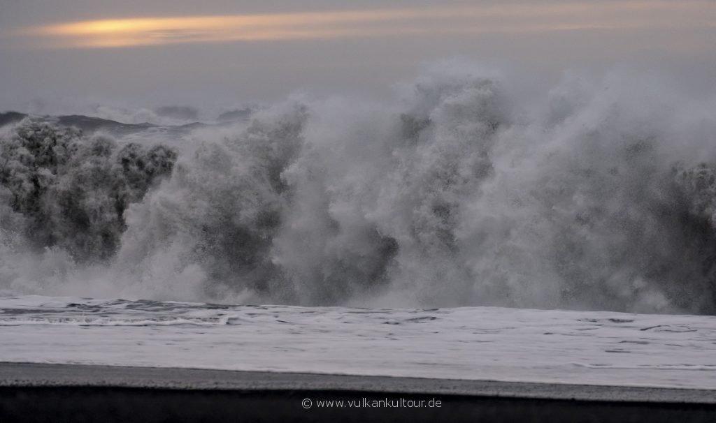 Mächtige Wellen