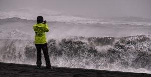 Mächtige Wellen - tolles Fotomotiv!