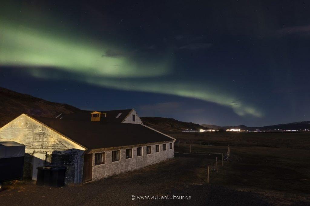 Nordlichter über unserer Farm