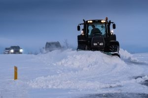 Schneeräumer à la Island