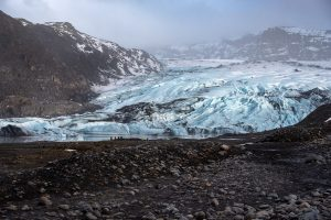 Gletscherzunge des Sólheimajökull