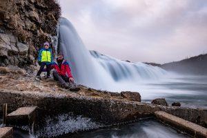 Toller Wasserfall nahe dem Geysirgebiet