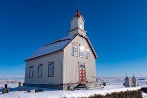 Landkirche nahe Stokkseyri