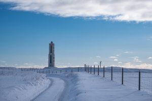 Leuchtturm nahe Stokkseyri