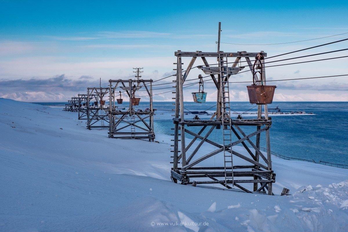 Alte Kohleseilbahn - seit den 80er Jahren außer Betrieb