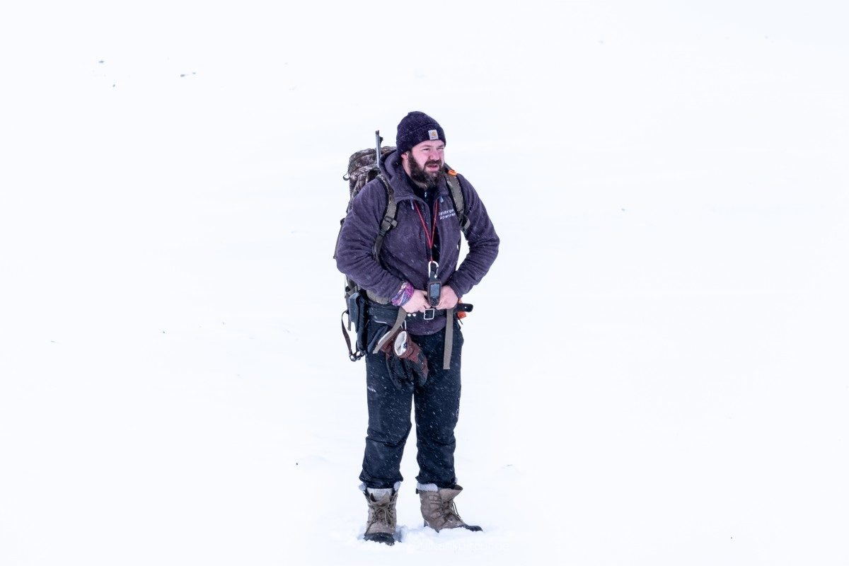Unser super Guide Misha (Spitzbergen Adventures)