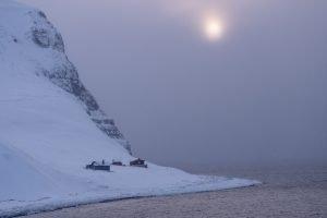 Kalte Küste am Fuglefjella
