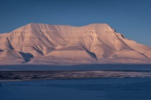 Abendsonne auf dem Hjortfjellet