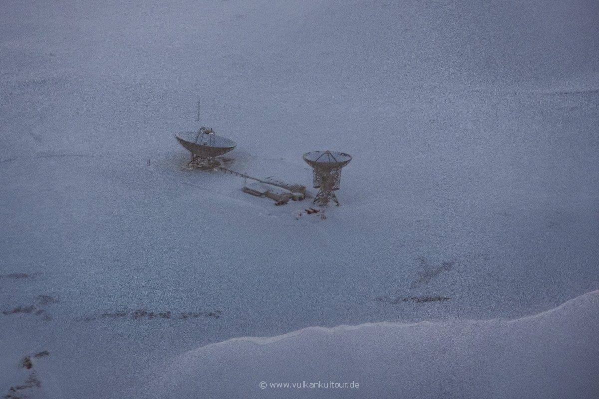 Das Kjell Henriksen Observatory auf Spitzbergen