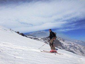 Ätna Skitour Schiena dell' Asino - Florian Becker