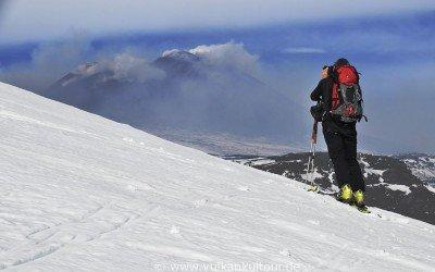 Ätna Skitour Schiena dell' Asino