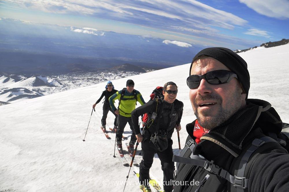 Ätna Skitour 2015