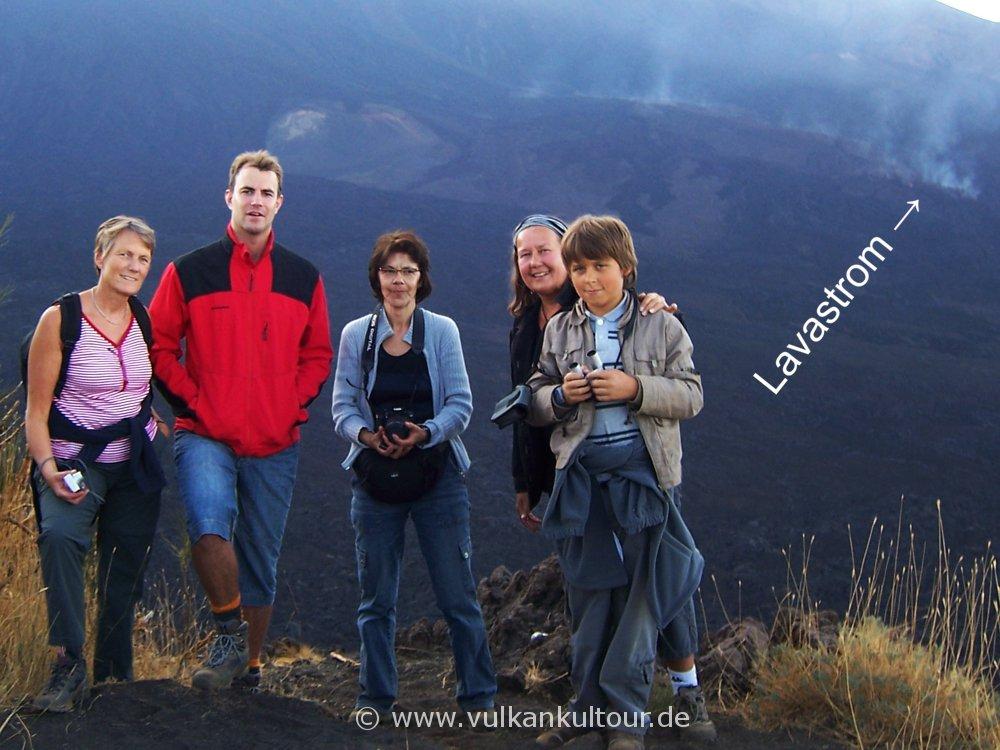 Auf dem Monte Zoccolaro über dem Valle del Bove