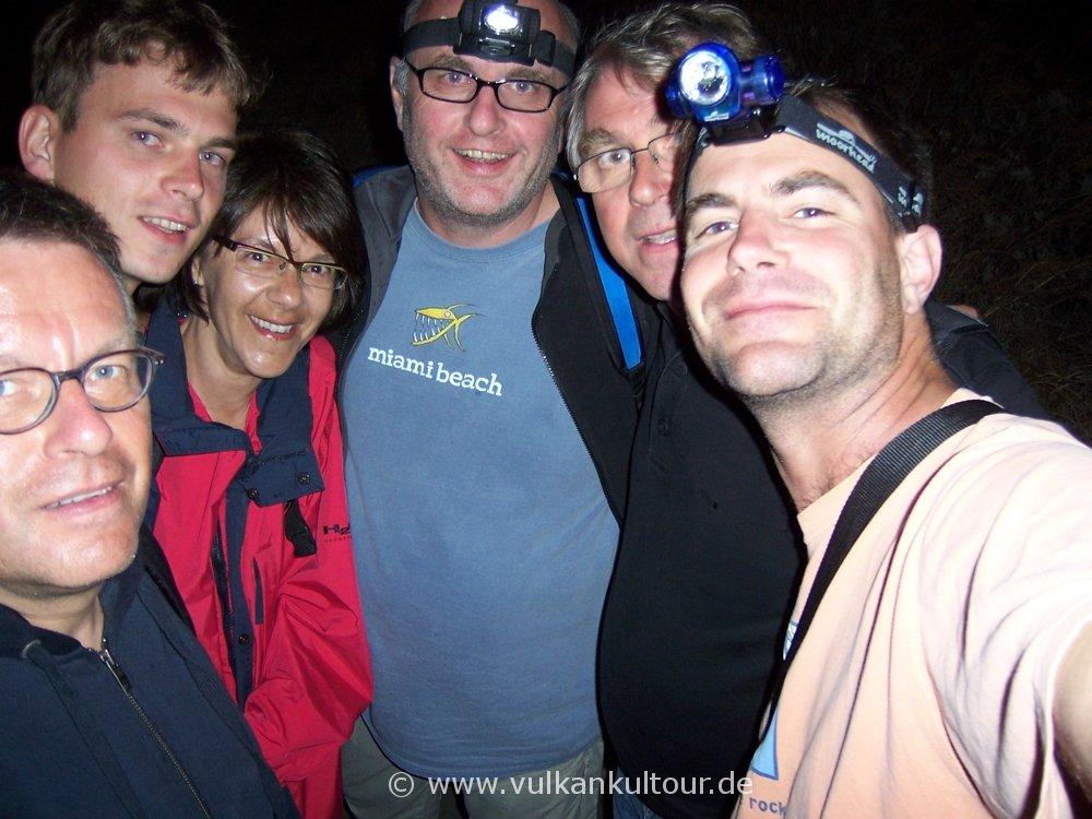 Die Actioncrew am Stromboli - let's party!