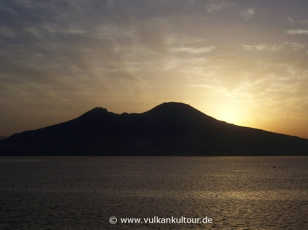 Morgenstimmung am Golf von Neapel