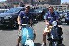Flo und René in Neapel - es warten 9 Tage und 1600 km bis München... :-D