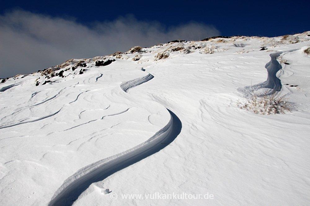 snow wafe