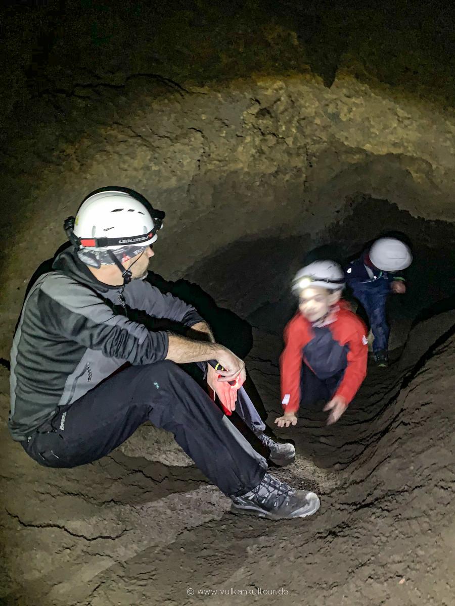 Höhlenmenschen unter sich