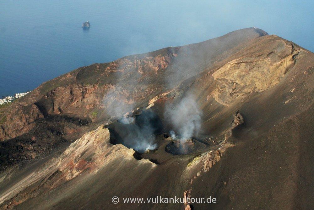 Stromboli Kraterterrasse