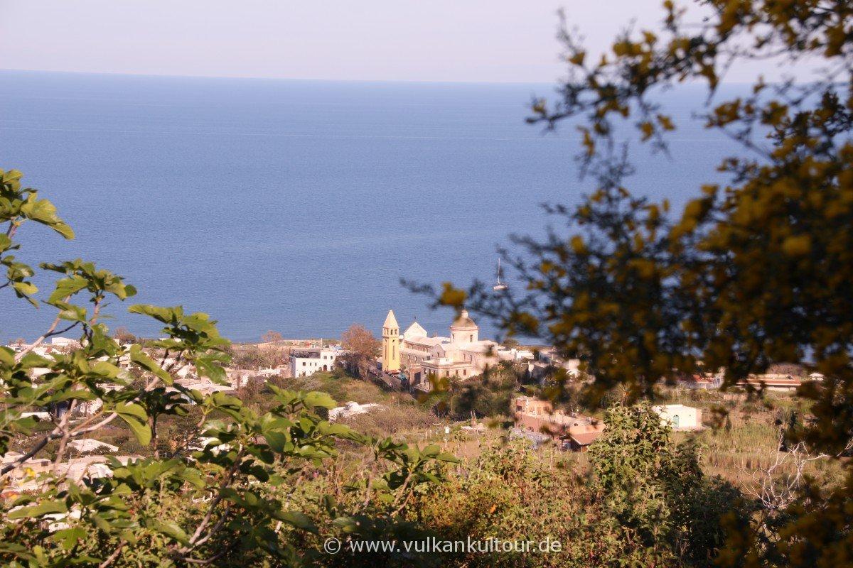 Stromboli - Blick auf San Vincenzo