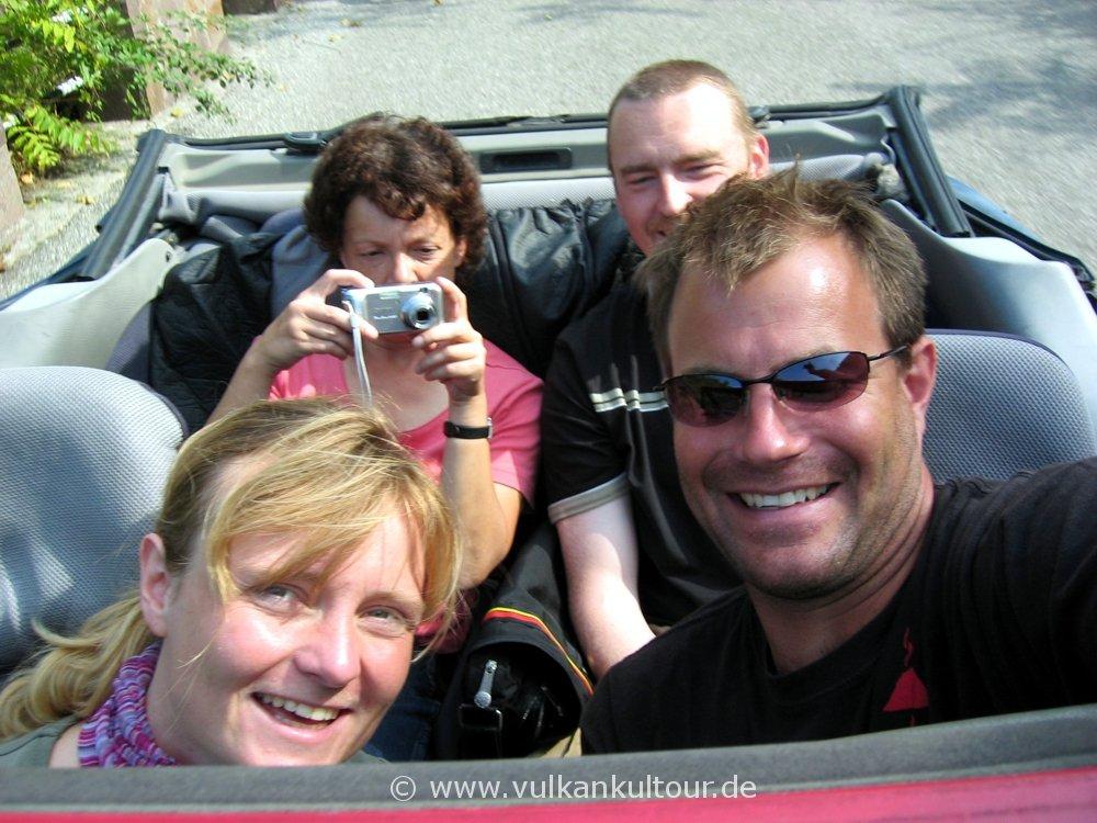 Inselrundfahrt Lipari mit Cabrio