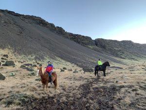 Auf dem Rücken der Pferde das Land entdecken