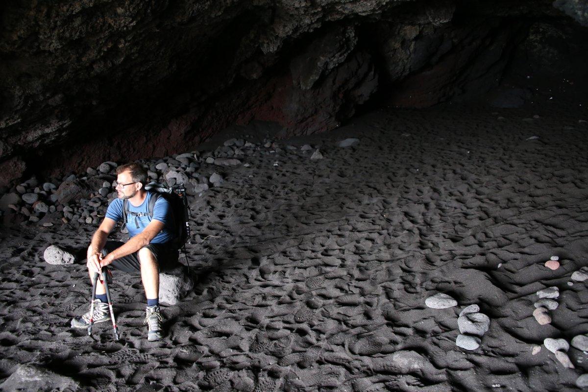 In der Grotta di Eolo auf Stromboli (© Dieter Braun)