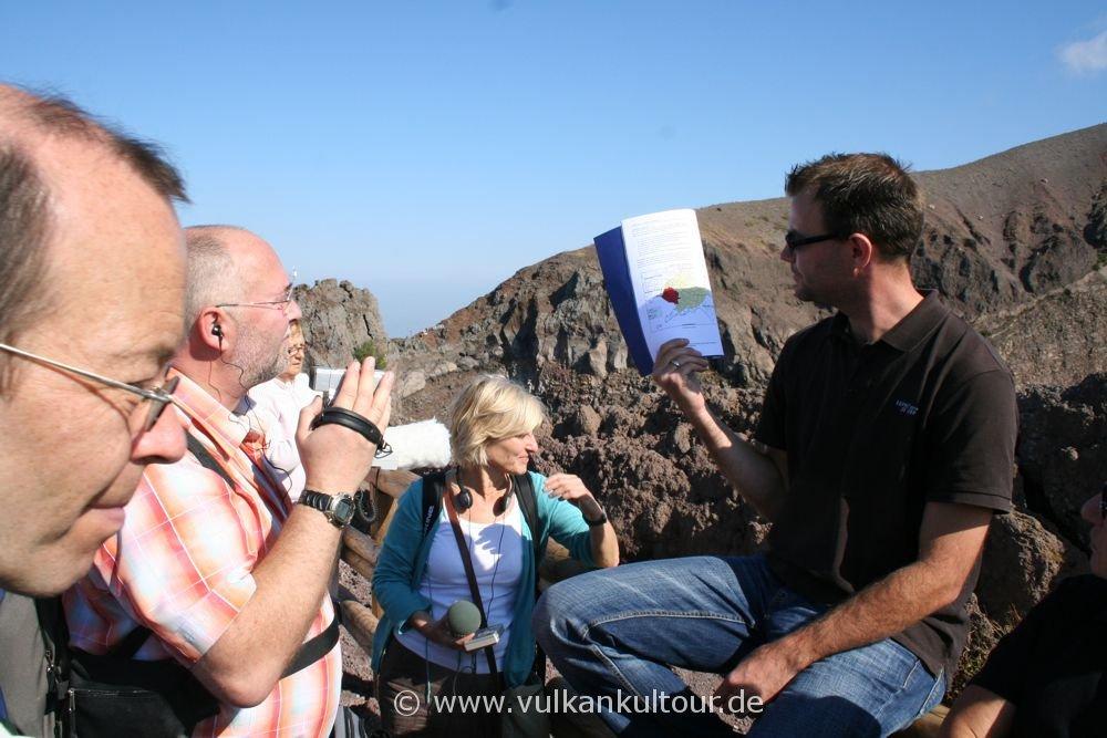 Feuerberge Süditaliens - Am Kraterrand des Vesuv