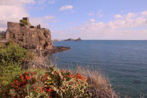 20171028 Feuerberge Siziliens Letzter Tag: Ausflug nach Aci Castello und danach: Fischmarkt in Catania