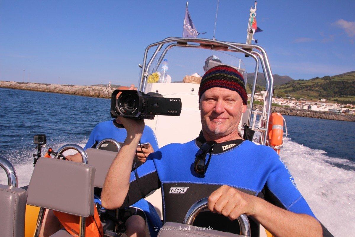 20180506 Azoren MDR auf dem Weg zum Delfinschwimmen